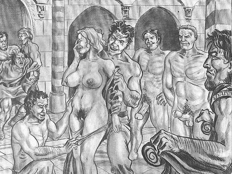в древнии порно