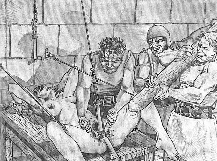 Порно Пытка Девственницы