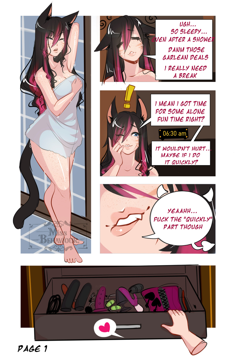 Momocha (bdsm comics by Miss Behaviour)