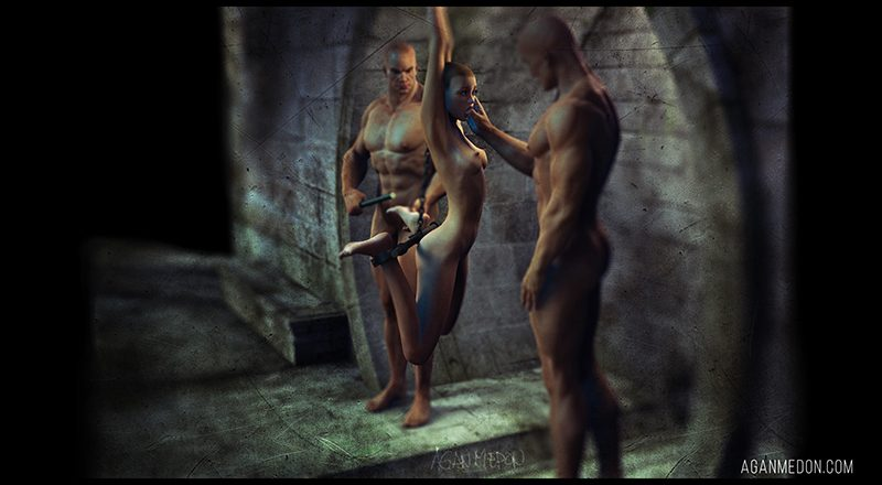 The dungeon 2 (3D bdsm by Agan Medon)