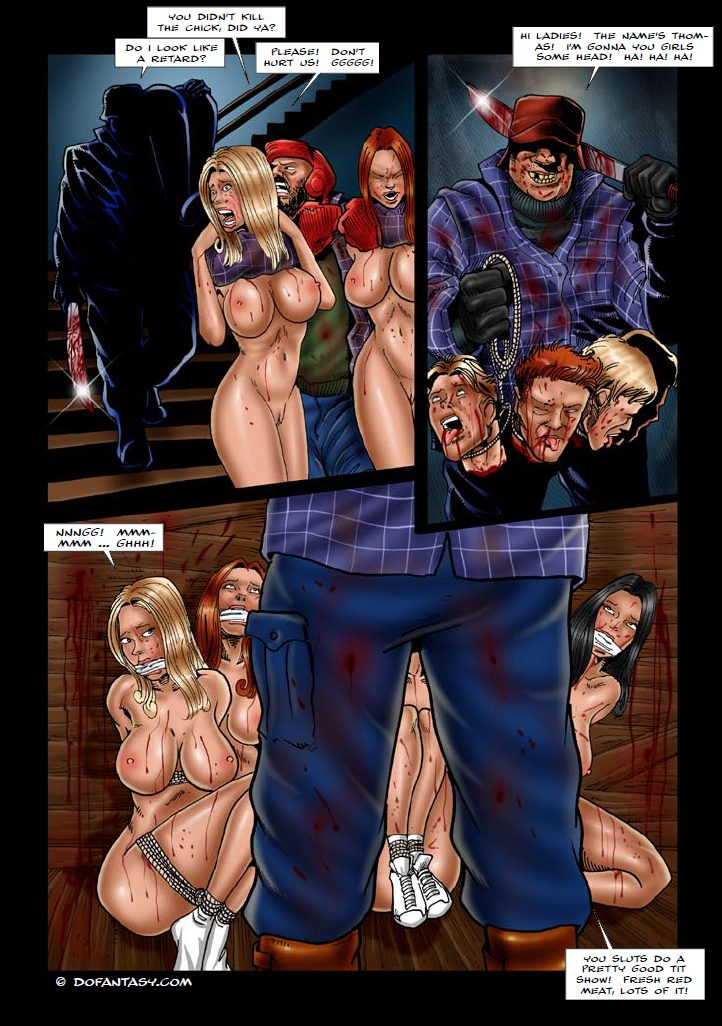 Weird party (Sickest 12 – Warning! Taboo comics by Cagri)