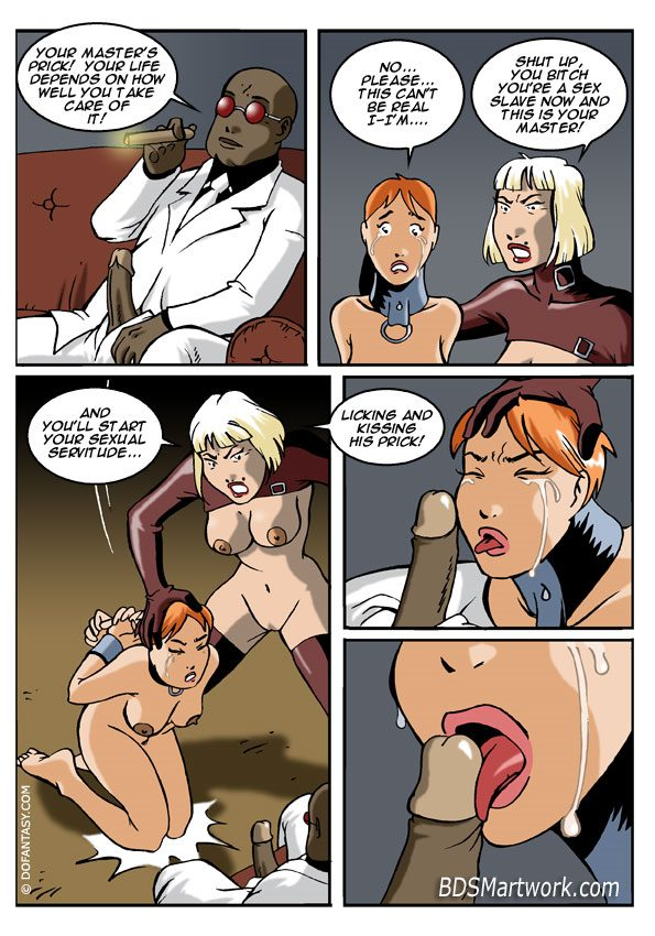The dungeon of mistress arcadia (bdsm comics by Lady Feather)