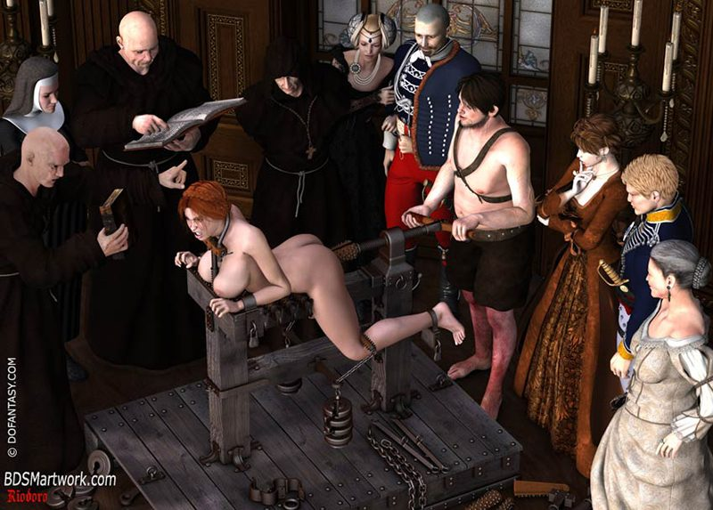 Inquisition part 2 (3D bdsm by Riodoro)