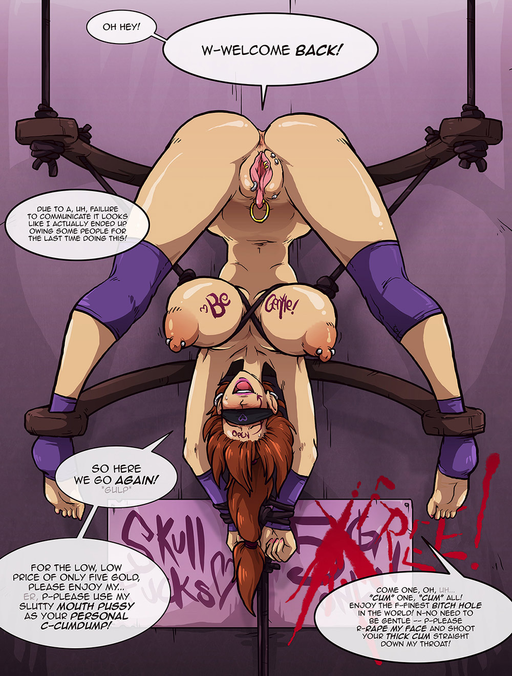 Humiliation (bondage by Sparrow)