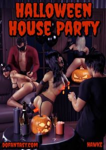 Halloween house party (fansadox 552 by Hawke)